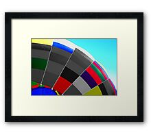Semi Colorful Framed Print