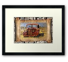 The Dead Rust Scrolls Framed Print