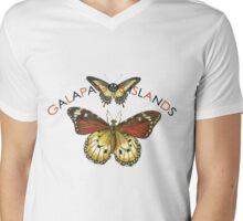 Galapagos Islands Butterflies Mens V-Neck T-Shirt