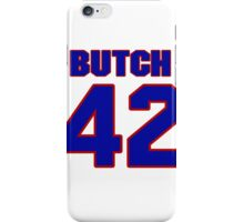 National baseball player Butch Wensloff jersey 42 iPhone Case/Skin