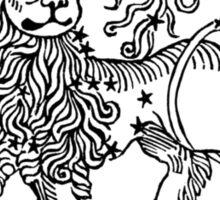 Carpe Noctem Lion Sticker