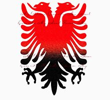 Eagle Blazon Coat of Arms Albania Mens V-Neck T-Shirt
