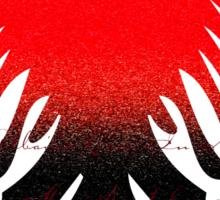 Eagle Blazon Coat of Arms Albania Sticker