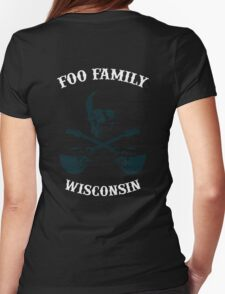 Foo Fam Wisconsin Womens Fitted T-Shirt