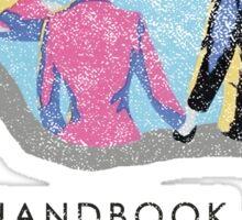 Handbook for the Recently Deceased - Light Sticker