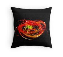 Swirling ember  Throw Pillow