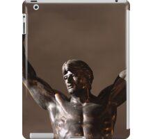 Rocky Statue at Night iPad Case/Skin