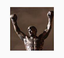 Rocky Statue at Night Unisex T-Shirt