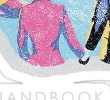 Handbook for the Recently Deceased - Dark Sticker