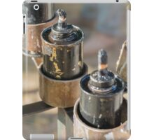 oil lamp iPad Case/Skin