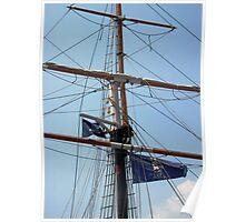Tallship Mast Poster