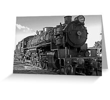 Steam Train 5917 Greeting Card