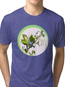 CHALK CHERRY Tri-blend T-Shirt