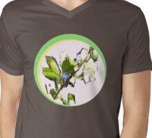 CHALK CHERRY Mens V-Neck T-Shirt