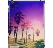 Colorful Palm Trees on a Beach iPad Case/Skin