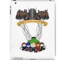 Ultrons Puppets iPad Case/Skin