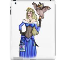 Steampunk Aurora - Sleeping Beauty - Blue iPad Case/Skin