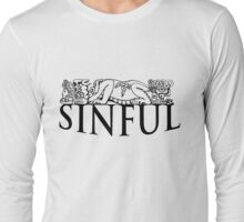 Sinful Azteca Gargoyle Long Sleeve T-Shirt