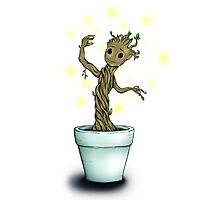 Baby Groot - Guardians of the Galaxy Photographic Print