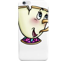 Chip from Beauty and the Beast iPhone Case/Skin