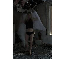 SMOKE+MIRRORS (THE ANGEL) Photographic Print