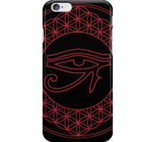 Eye of Horus Creator Black iPhone Case/Skin