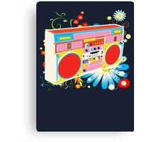 Boombox - Summertime Canvas Print