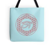 Eye of Horus Creator Blue Tote Bag