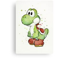 Yoshi Watercolor Canvas Print