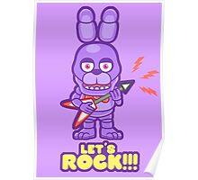 Bonnie ROCK Poster