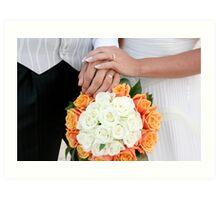 Wedding Images Art Print