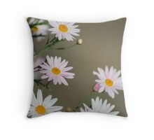 Afternoon Bloom Throw Pillow