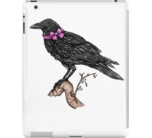 Crow in a Bow iPad Case/Skin