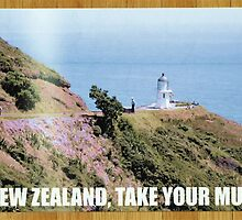 Flight of the Conchords NZ tourism poster by djcc