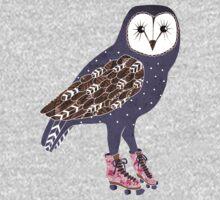 I skate OWL night long One Piece - Long Sleeve