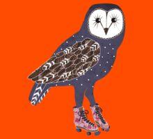I skate OWL night long Kids Tee