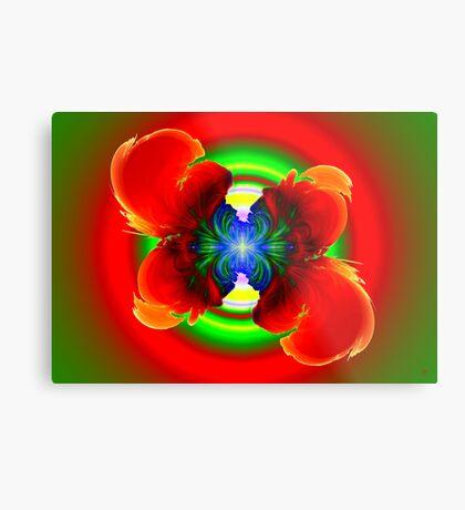 Tropical Flower Metal Print