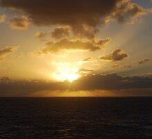 West Coast Winter Sunset 1 by Futurama