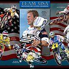 Team USA Motocross des nations Champions by robkinseyart
