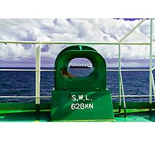 On deck Photographic Print