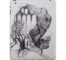 A Woman And Her Symbols iPad Case/Skin