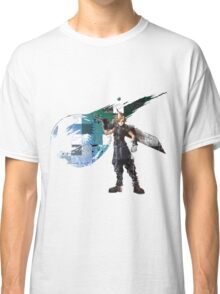 Cloud Strife Gridwork design & logo Classic T-Shirt
