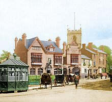 Moseley Village 1897 by nixa