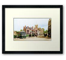 Moseley Village 1897 Framed Print