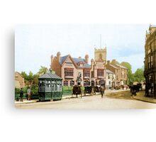 Moseley Village 1897 Canvas Print