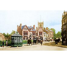 Moseley Village 1897 Photographic Print
