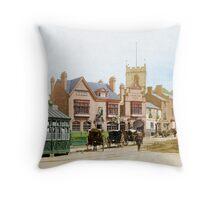 Moseley Village 1897 Throw Pillow