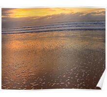 Natures Paintbrush - Palm Beach - Sydney Beaches, Sydney Australia Poster
