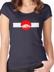 Japan - Fuji Women's Fitted Scoop T-Shirt
