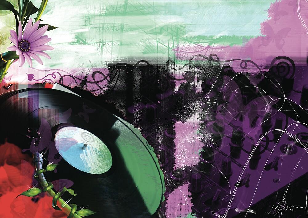Purple Haze by Jasna Bogdan